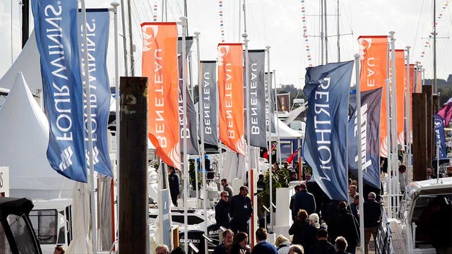 Southampton Boat Show 2018 - Windy Day