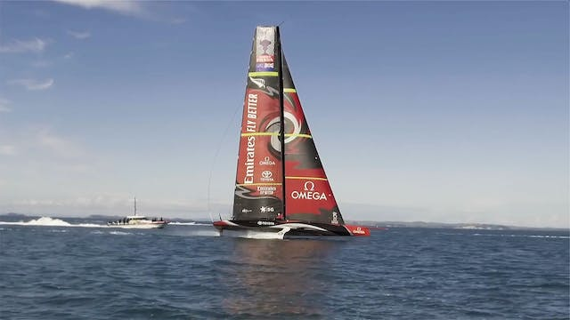 Emirates Team NZL - First Day Sailing