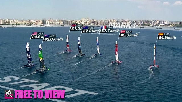 F2V - SailGP - Italy - Practice Race & Skippers Briefing
