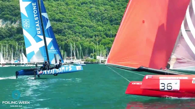 Foiling Week Garda 2017 - Day 1