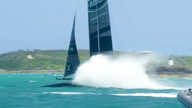 35th America's Cup - 25th May - Postponement & Practise