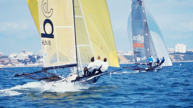 18 Foot Skiff Euro Grand Prix - Sandb...
