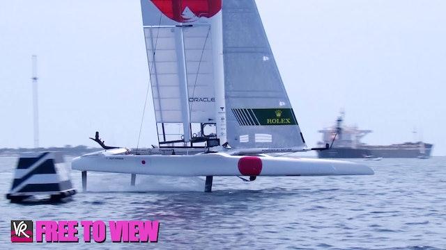 F2V - SailGP - Italy - Day Two