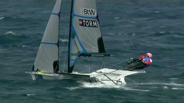 2015 Hyeres World Cup - 49erFX Medal ...