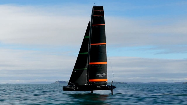 Emirates Team NZL - Back Out On The Small Boat