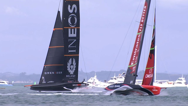 INEOS Team UK - America's Cup Match Racing 101