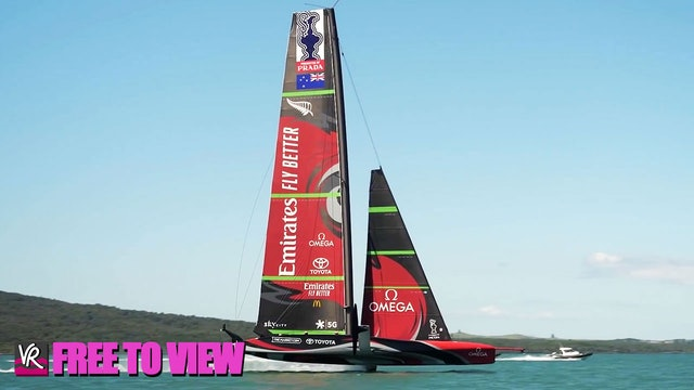 F2V - Emirates Team NZL - Launched & Tested in 24 Hours