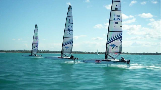 Emirates Team NZL - Warming Up For 20...