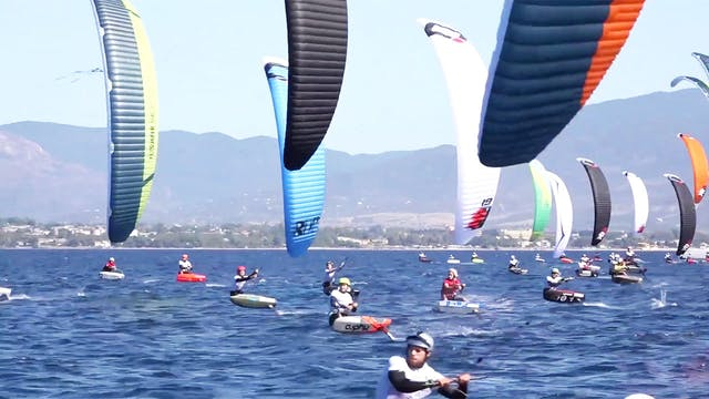 2019 Kitefoil World Series - Cagliari...