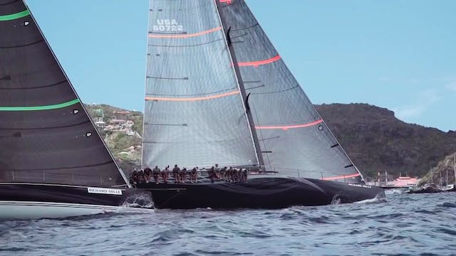 Les Voiles de St Barth 2017 - Day One...