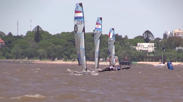 2015 49er & 49erFX World Championship Final Race Day