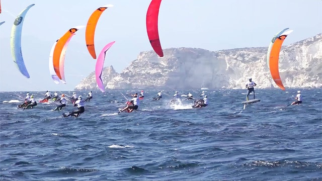 2019 Kitefoil World Series - Cagliari - Day One