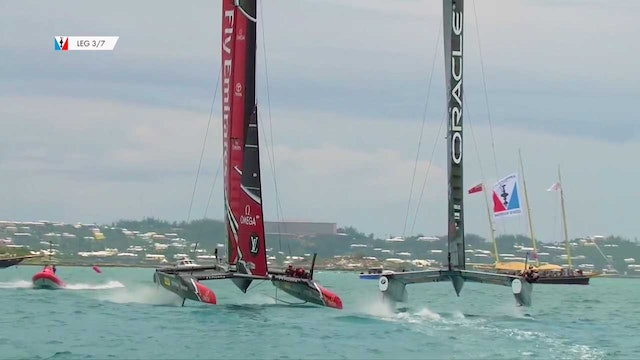 35th America's Cup - 3rd June - Qualifying Round Robin 2