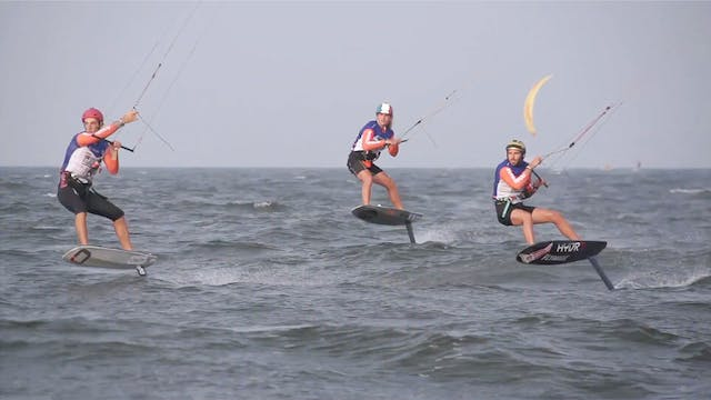 2019 Kitefoil World Series Weifang Bi...