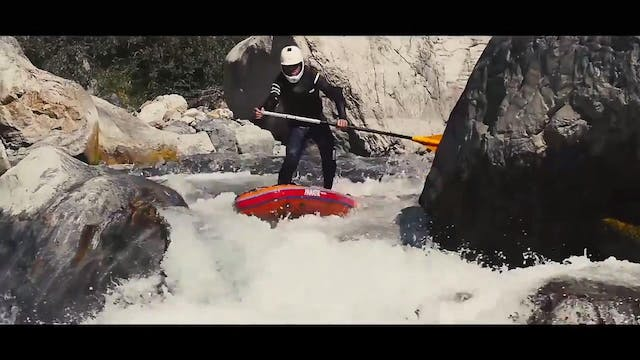 Whitewater SUP French Alps