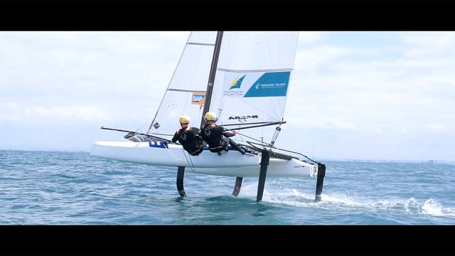 Team Rietman White Nacra 17