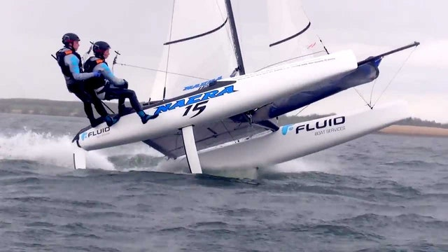 Nacra 15 Team Philpott-D'Arcy