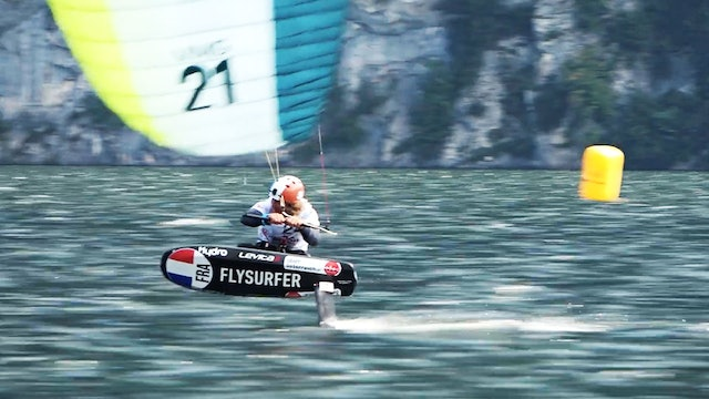 2020 Formula Kite Mixed Team Relay Euro Champs - Day Three