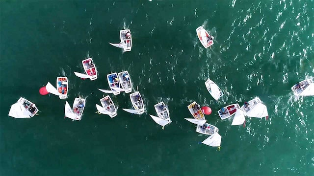 Ora Cup Ora 2018 - Optimists out in force on Lake Garda