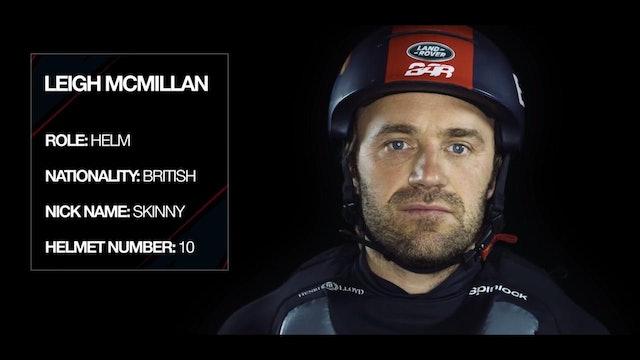 Land Rover BAR - Meet The Team - Leigh McMillan
