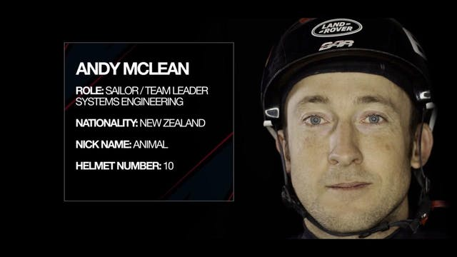 Land Rover BAR - Meet The Team - Andy...