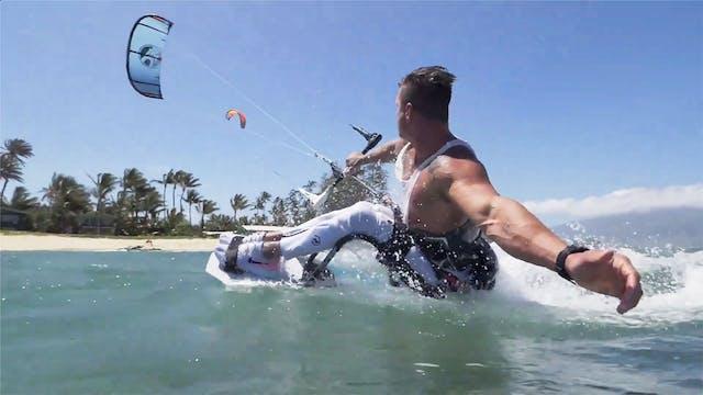 Fernando Ferandes Kitesurfing On Maui