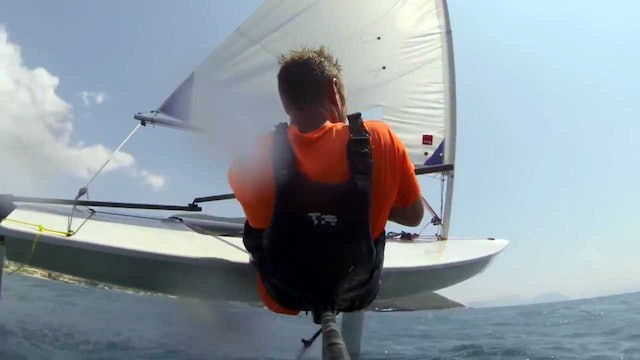 Breaking 20 knots on a Laser at Wildwind