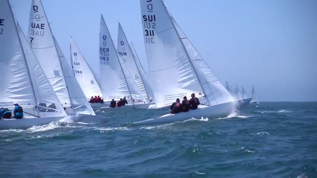 Cascais Dragon World Championship 2017 - Day One