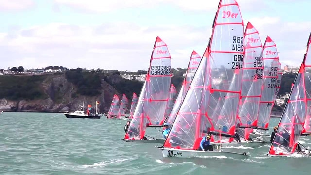 Zhik UK 29er National Championships 2016 - Day 1