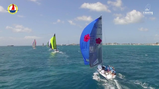 2017 St. Maarten Heineken Regatta - Day 1 Around the Island