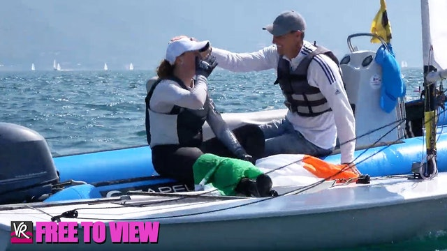 F2V - 2021 ILCA 6 Laser Radial Youth Worlds - Final Series Finale