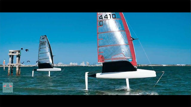 Foiling Week Miami 2018 - Day 1