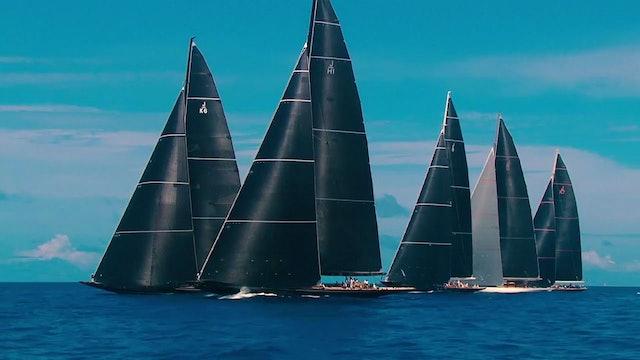 America's Cup Superyacht Regatta - Day One
