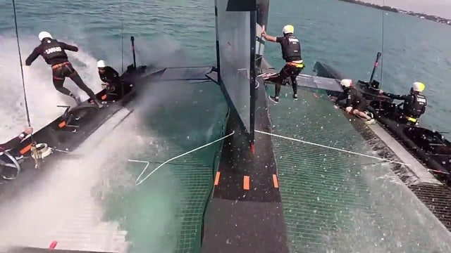 SoftBank Team Japan - Man Overboard