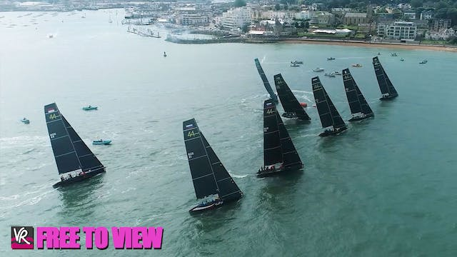 F2V - 44Cup Cowes 2021 - Day 3