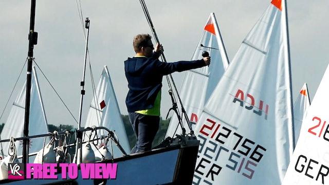 F2V - Kiel Week 2021 - Sailing Highlights - Day 1