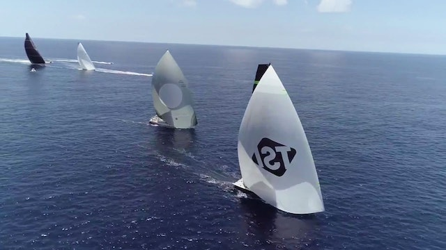 Les Voiles de St Barth 2017 - Light Breeze Conditions