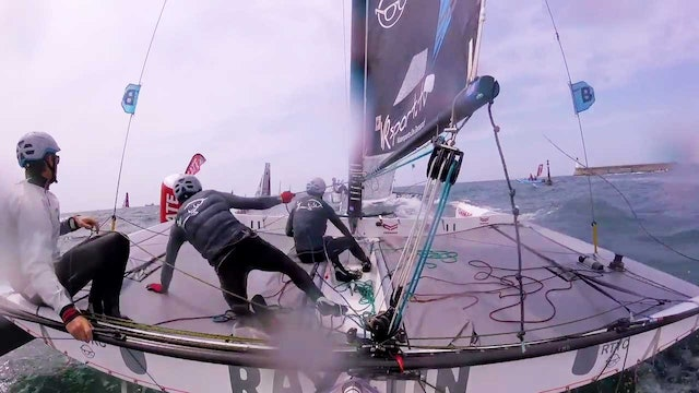 Team Maverick SSR - Tour Voile Stage 5 - Les Sables D'Olonne
