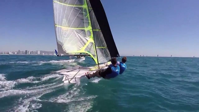 49er & 49erFX European Champs 2016 - Day 6