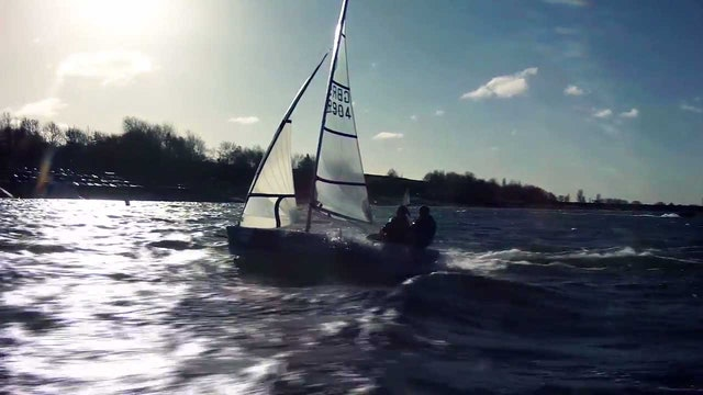 GJW Direct Sailjuice Winter Series 2015 - Draycote Dash
