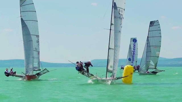 18ft Skiff Hungary Grand Prix 2017 - Day 1