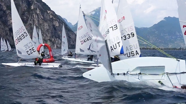 2021 ILCA 6 Laser Radial Youth Worlds - Day One