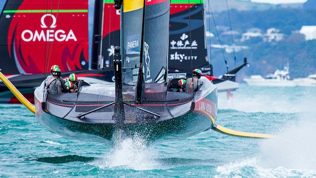 The 36th America's Cup - Day One