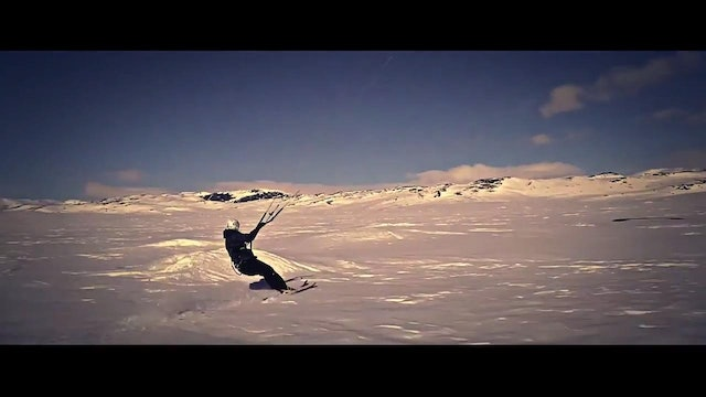 Team Bridge - Snow Kiting in Norway