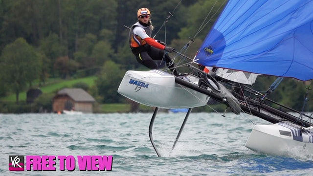 F2V - 49er - 49erFX - Nacra 17 Europeans 2020 - Day One
