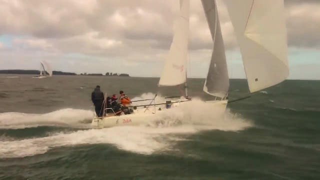 J/80 Downwind Reaching - 2015 World C...