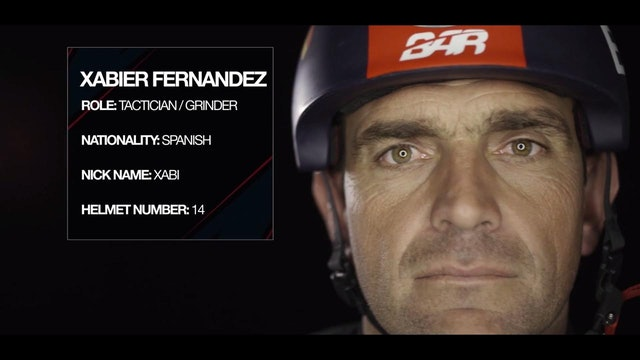 Land Rover BAR - Meet The Team - Xabier Fernandez