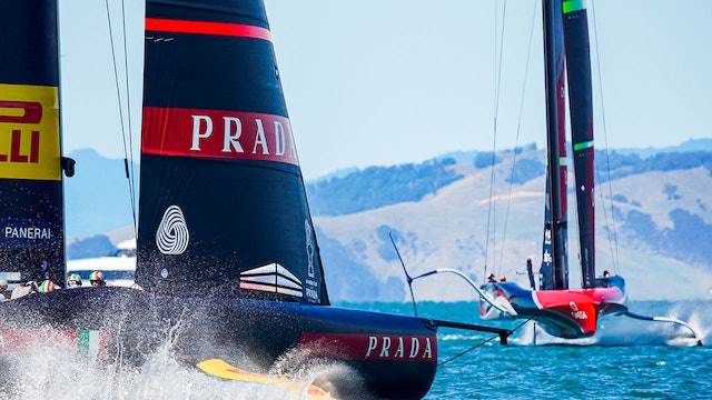 The 36th America's Cup - Day Two