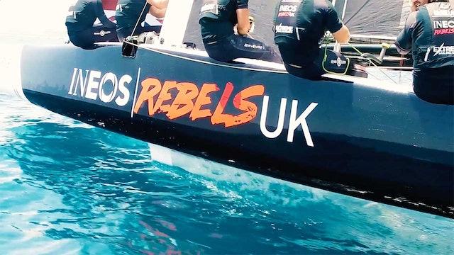 INEOS Rebels UK - Day 3 - Act 3, Extreme Sailing Series Barcelona