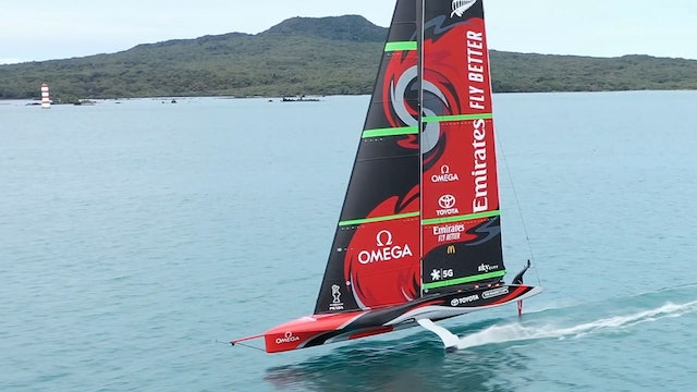 Emirates Team NZL - The AC36 Course Location Review